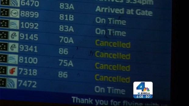 [LA] San Francisco Crash Causes Gridlock at LAX