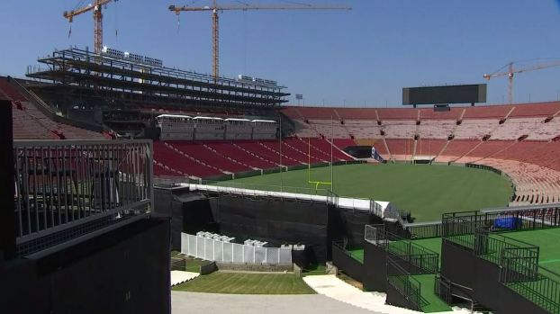 [la gallery] Photos: See the Changes Coming to the Historic LA Memorial Coliseum