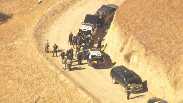 PHOTOS: Moreno Valley Manhunt