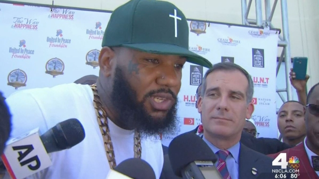 [LA] Rappers and Mayor Attend Gang Unity Summit