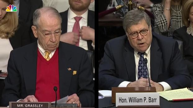 Barr Insists He Will 'Faithfully Enforce' Criminal Justice Reform