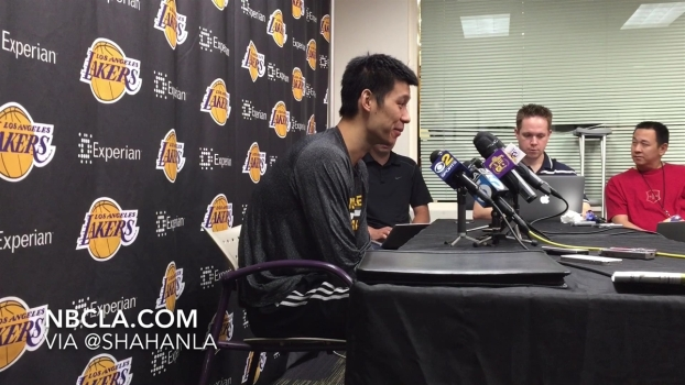 Jeremy Lin Talks Up and Down Lakers Season