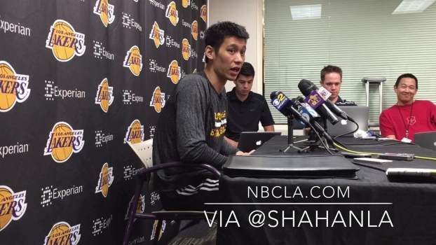 Jeremy Lin Talks About Playing with Kobe Bryant