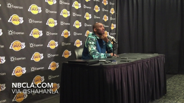 Kobe Bryant Talks Injury, Rehab and Future