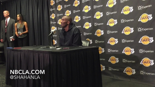 "Kobe Bryant Says Dwight Howard is a ""Teddy Bear"""