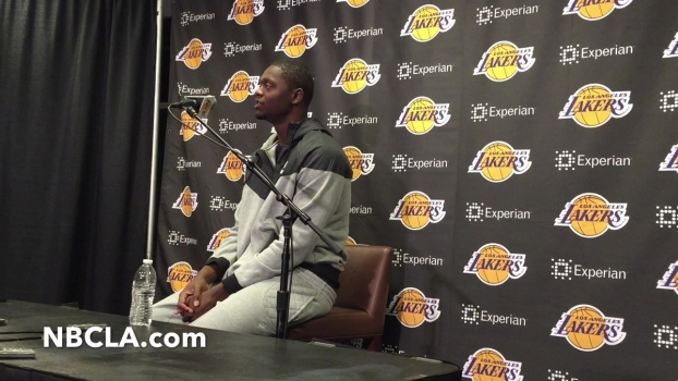 Lakers Rookie Julius Randle Talks About Broken Leg