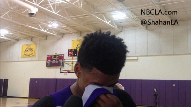 Lakers Practice Video: Steve Nash Back