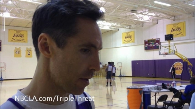 Lakers-Spurs: Nash Talks Age, Injuries