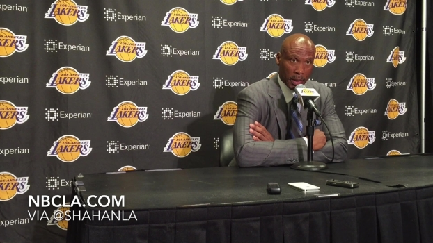 Byron Scott: Lakers 92, Pelicans 113