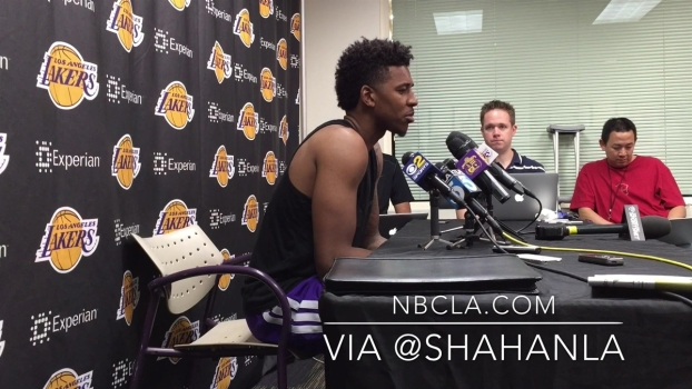 Nick Young Blames Rim For Poor Shooting