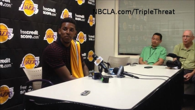Lakers Nick Young Explains #0 Jersey