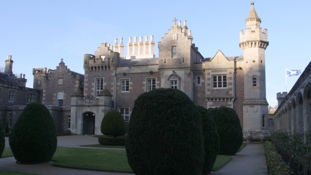 Sir Walter Scott's Home in Scotland