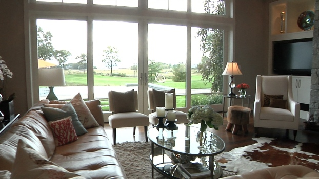 Live With Stunning Waterfront and Golf Course Views