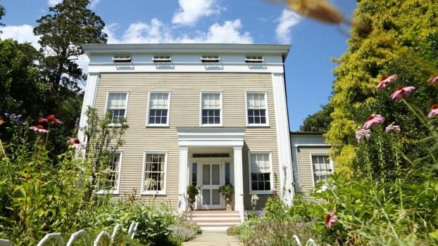 Tour a Sag Harbor Greek Revival Mansion