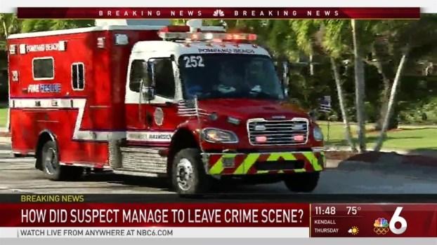 Broward County School Shooting Suspect Detained