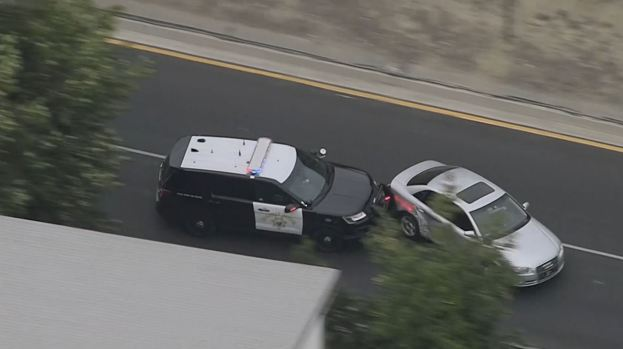PHOTOS: Police Chase Audi Through Two Counties