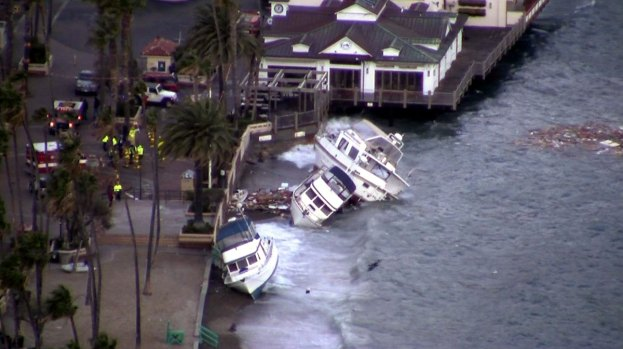 [LA] Two Killed, One Missing After Storm in Avalon Harbor