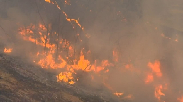 Fire erupts in San Bernardino on December  5