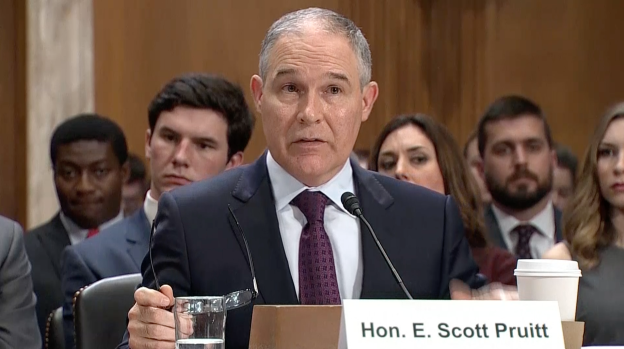 [NATL] Sanders, Booker Question Trump EPA Pick Pruitt