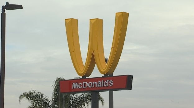 [LA] McDonald's Flips Logo to Send Message