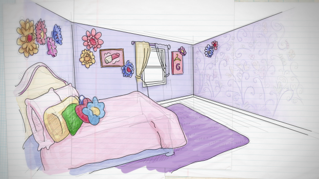 """Universal Kids Introduce Kids to Design on """"Get Out of My Room"""""""