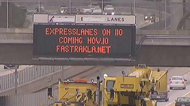 "[LA] ExpressLanes ""About Easing the Flow of Traffic"""