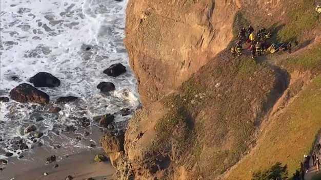 Cliff Rescue at San Francisco's Lands End