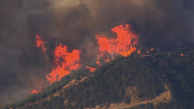 Wragg Fire About 70% Contained