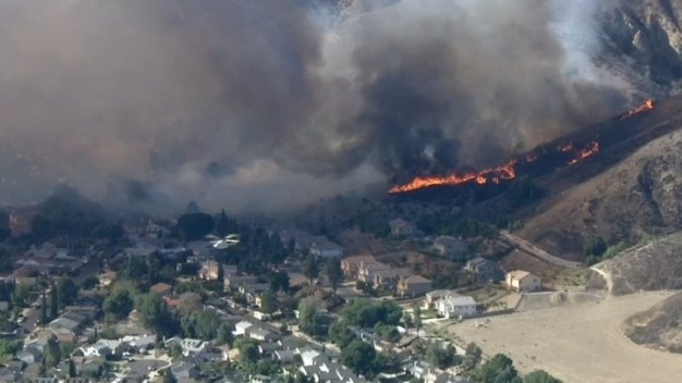 Brush Fire Prompted Voluntary Evacuations in Valley
