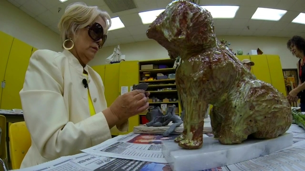 One Woman Proves You Don't Need Sight to Create Art