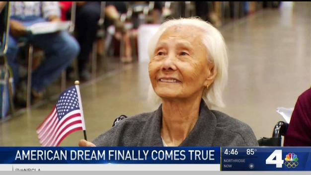 103-Year-Old Woman Becomes US Citizen