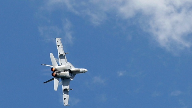 Marine Jet Pilot Escapes Desert Crash