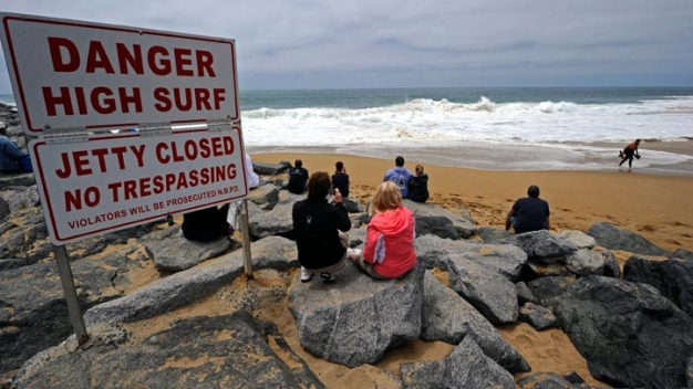 High Surf, Dangerous Rip Currents Expected Through Thursday