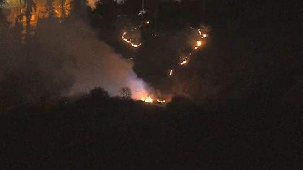 Firefighters Contain Brush Fire Near Occidental College