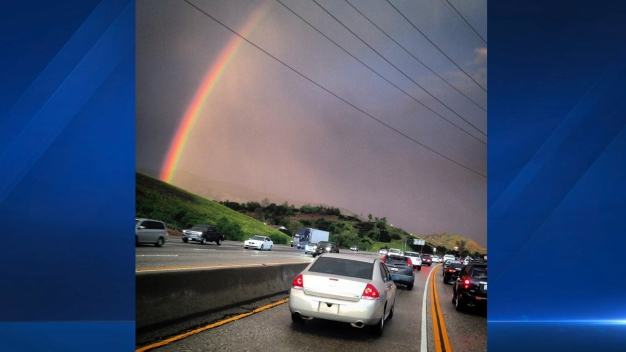 SoCal Rainbows After Storm Damage