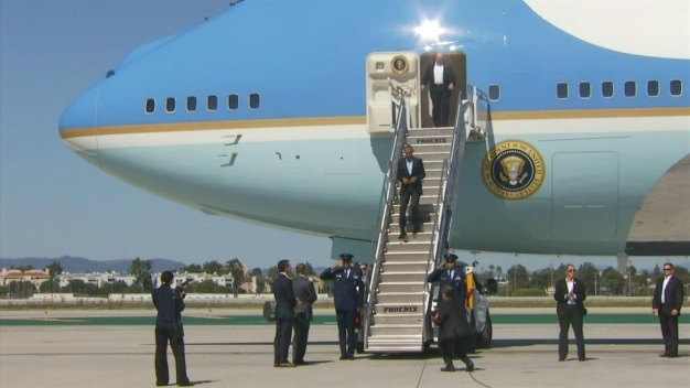 How to Avoid Traffic During President's LA Visit