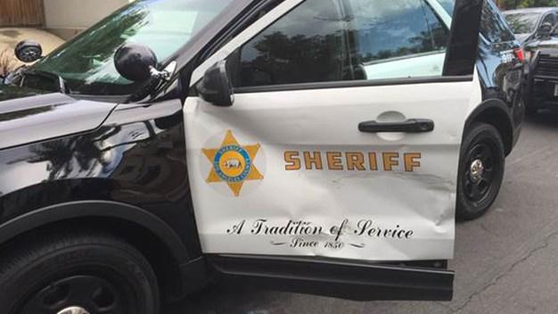Pursuit Driver Rams Patrol Car, Injuring Deputy