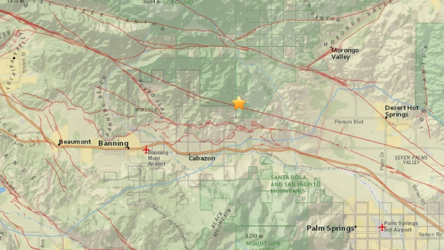Preliminary 3.5-Magnitude Earthquake Hits Cabazon Area