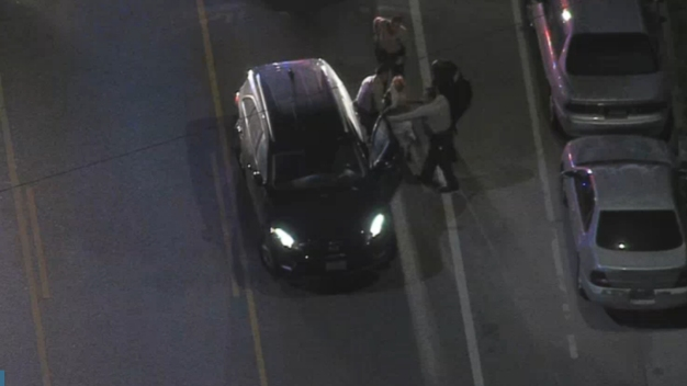 Driver Pursued by Police Arrested After Brief Standoff