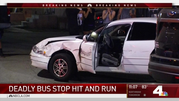 1 Dead After Car Crashes Into Bus Stop