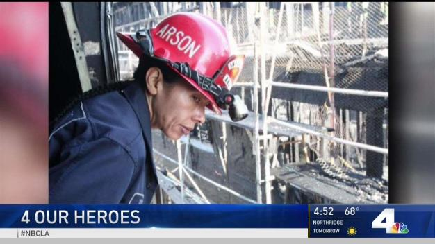 4 Our Heroes: First Ever Female Firefighter of the Year