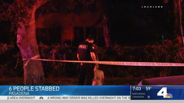 6 People Stabbed at Pasadena House Party