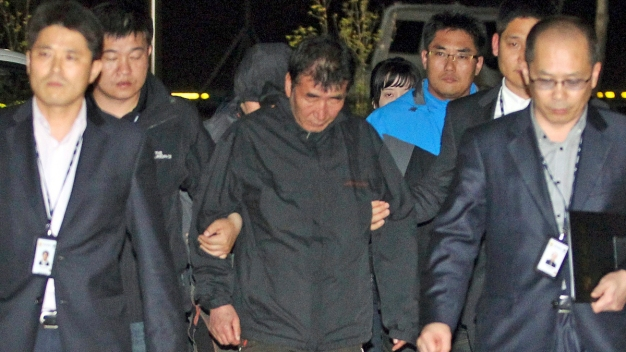 Captain of Doomed S. Korean Ferry Taken Into Custody