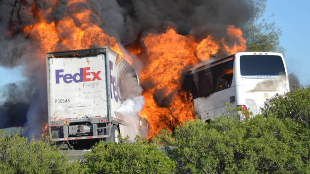 FedEx Faces 3rd Lawsuit in Deadly California Bus Crash