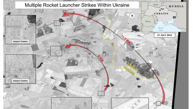 Satellite Images Show Russia Firing Into Ukraine: Officials