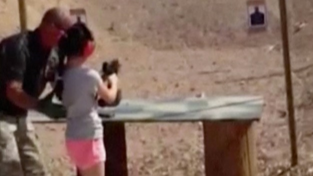 Girl Who Shot Instructor: Uzi Was