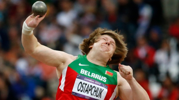 Belarus Shot Putter Stripped of Gold for Doping