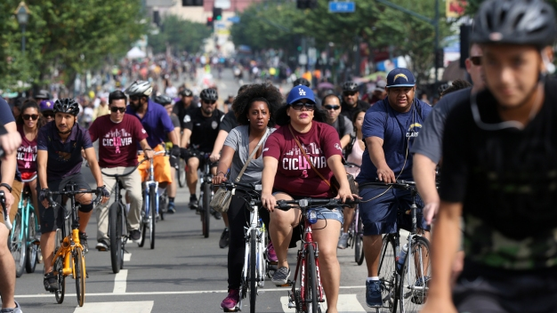 Final CicLAvia of the Year Marks a First for the No-Cars Neighborhood Event