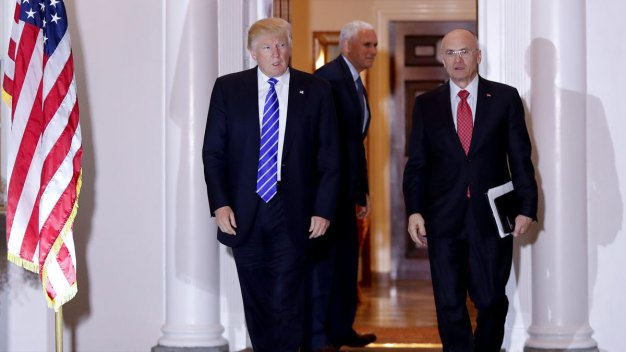Trump Expected to Tap Fast-Food CEO as Labor Secretary