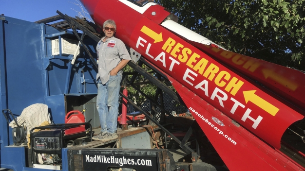 Self-Taught Rocket Scientist Plans to Launch Over Ghost Town